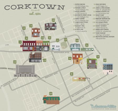 Awesome City Guide: Detroit's Corktown Neighborhood