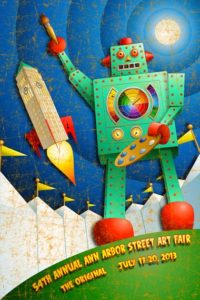 Photo courtesy of the Ann Arbor Street Art Fair