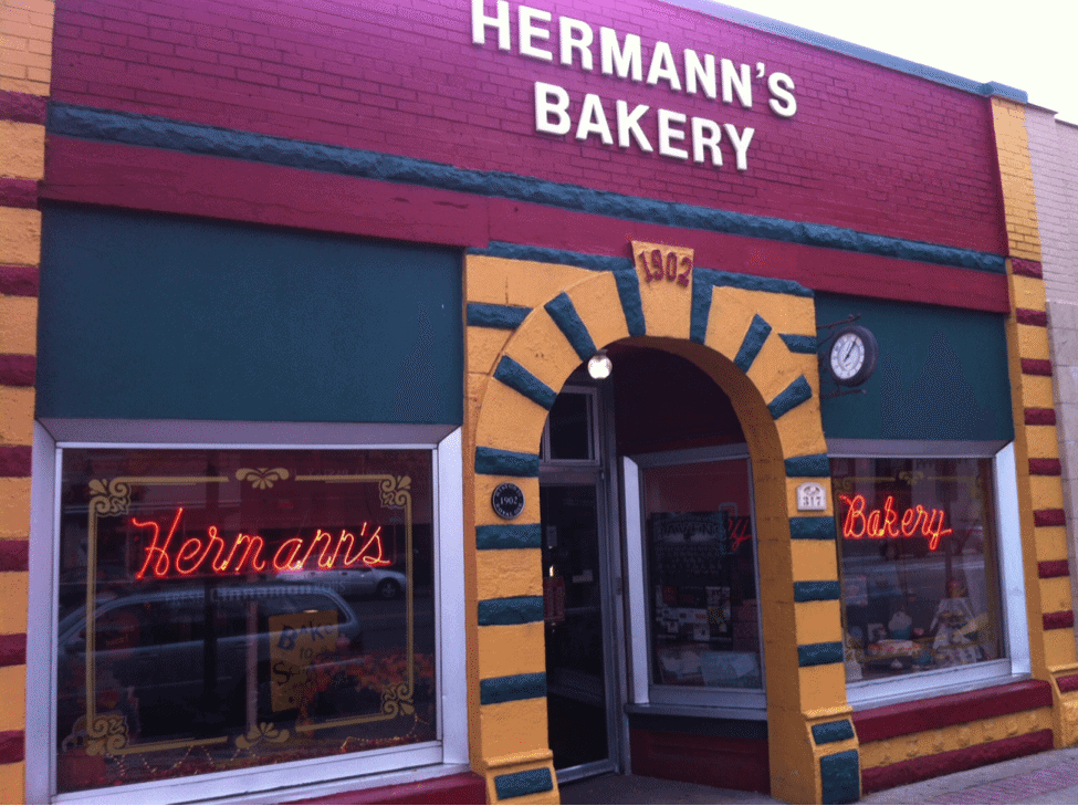 Untitled Pretty Awesome Pasties: Hermann's Bakery