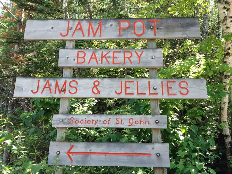 the Jampot Bakery in the Keweenaw Peninsual
