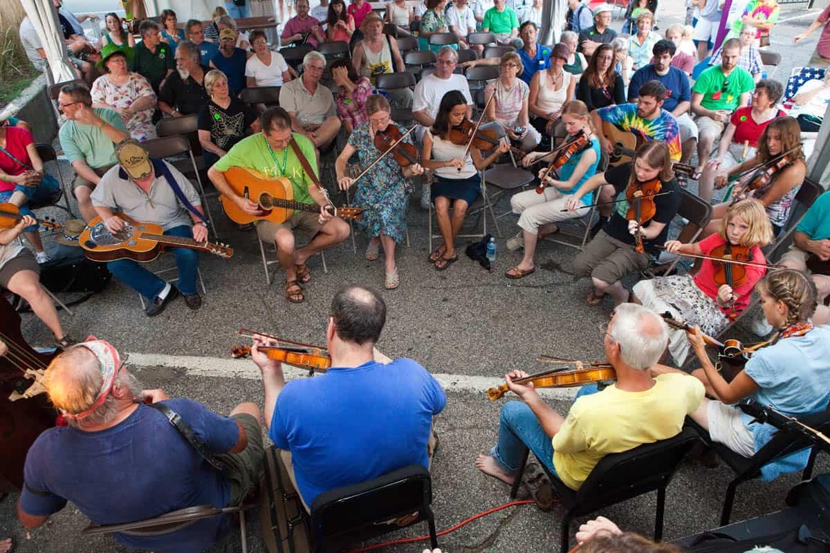 musiciansjam The Great Lakes Folk Festival