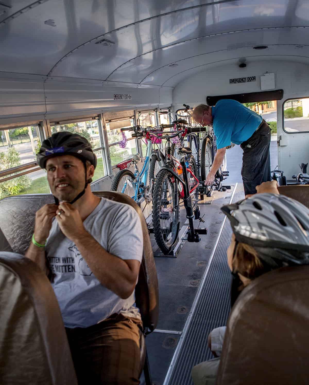 BATA bike n ride 1 Making Moves on the BATA Bus
