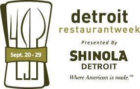 Photo courtesy of Detroit Restaurant Week