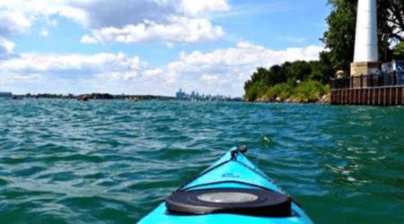 Detroit River Paddling Tours with Riverside Kayak Connection