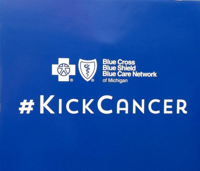 #KickCancer with Blue Cross Blue Shield of Michigan