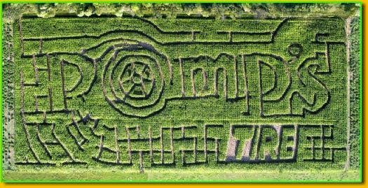 hayes corn maze 22 of the Best Unique Fall Things to Do Right Here in Michigan This Year