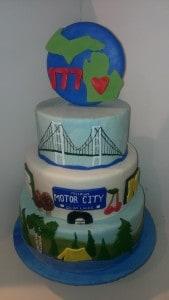 Michigan's Birthday Bake Off 2014 - Sherricakes
