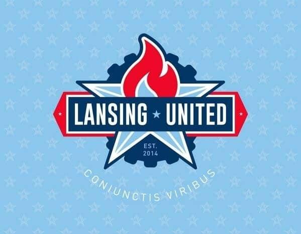 Lansing United logo Lansing United