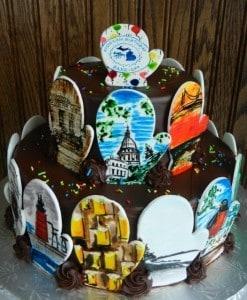 Michigan's Birthday Bake Off 2014 - MacKenzie's Bakery
