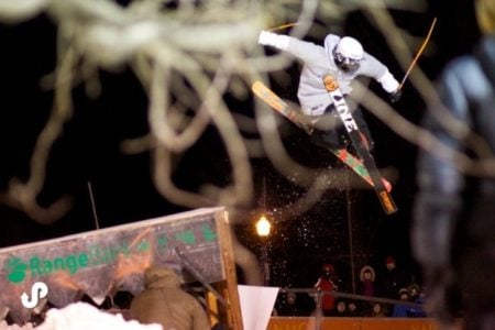 Marquette's Downtown Showdown Rail Jam Competition
