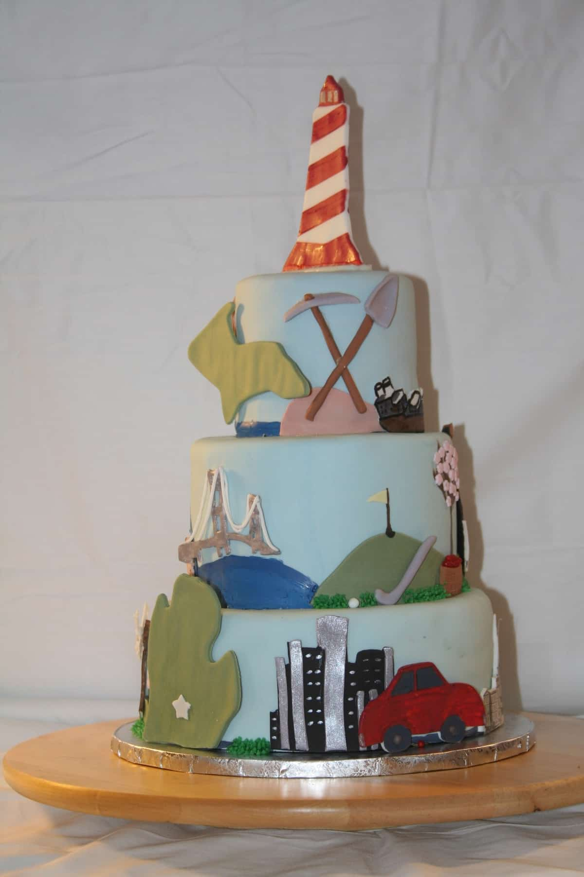 Michigan's Birthday Bake Off Professional - Pink Slip Cakery