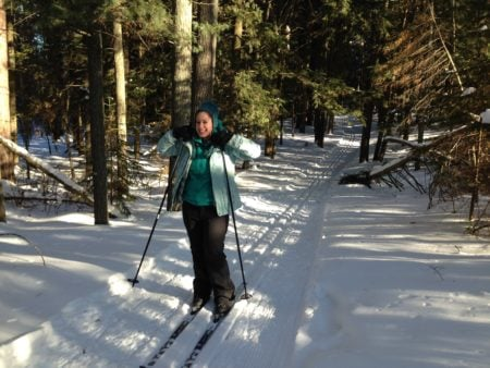 The Escanaba Pathway Ski and Snowshoe Trails