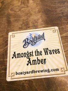 Boatyard Coaster