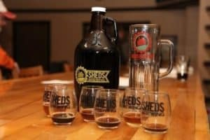 Shed's Brewing Company - Jackson, Mich.