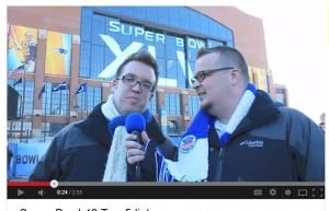 Big Ben and Tolin gave daily updates from the Super Bowl in Indianapolis.