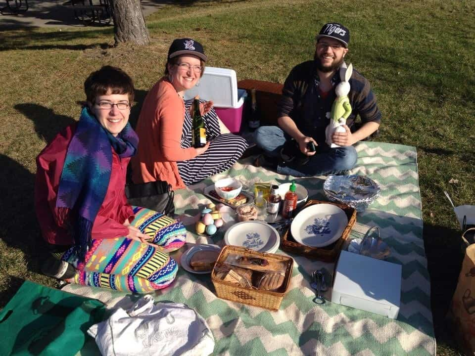 Arntson.Easter.4 How to Picnic in the D (When You're Used to Gorgeous West Michigan)