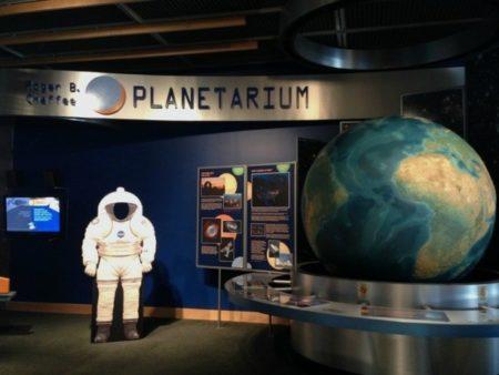 The Newly Renovated Roger B. Chaffee Planetarium