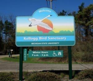 The Awesome Mitten - Kellogg Bird Sanctuary