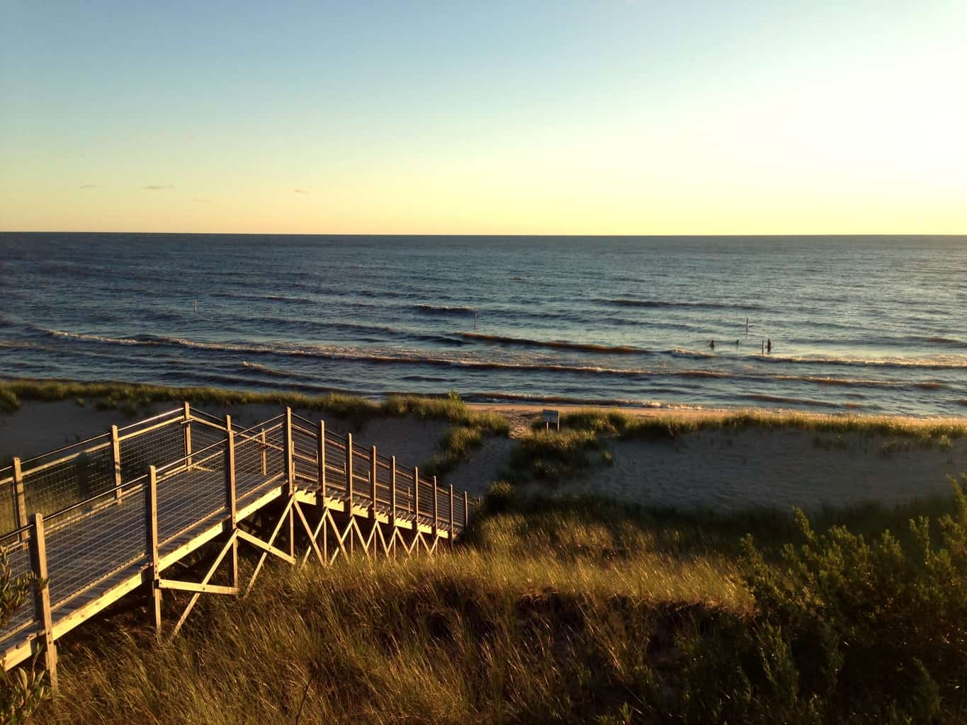 West Michigan's Best Beaches: Rosy Mound Natural Area