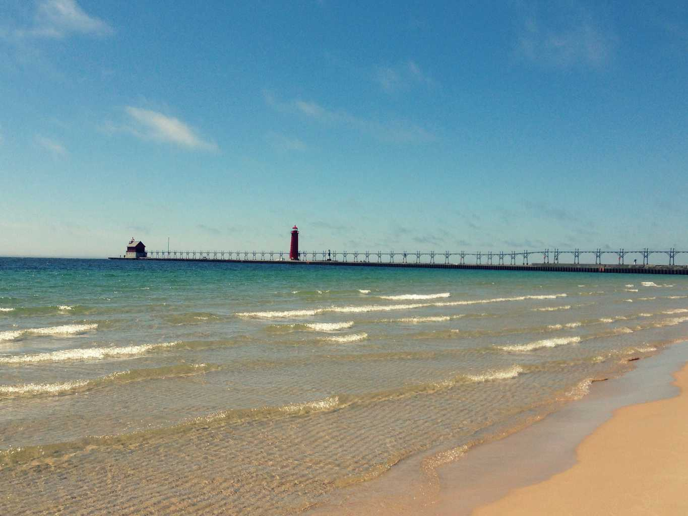 West Michigan's Best Beaches: Grand Haven State Park