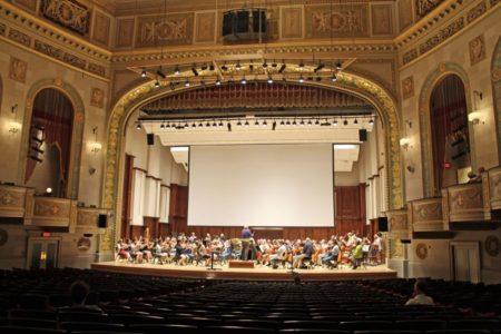 John Williams and Steven Spielberg Visit Detroit for DSO Benefit