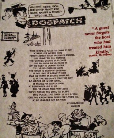 Dogpatch Restaurant: Fine Food Fer Fine Folk
