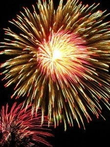 Michigan Fireworks for July 4th - Awesome Mitten