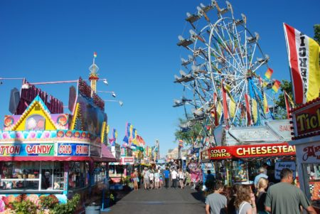 How A Local Survives The National Cherry Festival in Traverse City