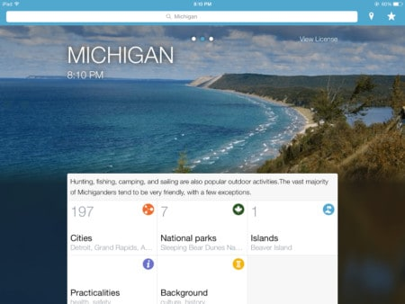 Michigan Mobile Apps: Accessing the Mitten Through Your Thumbs