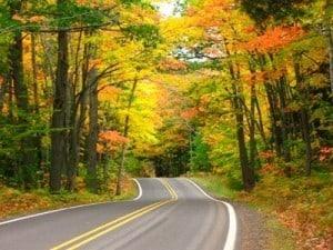 Driving through Brooklyn-Irish Hills in Fall - Courtesy of Brooklyn-Irish Hills Chamber of Commerce