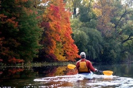 K. Price Thorn Lake paddler trees purchased 8.22.12 Copy Top 5 Ways to Enjoy the Fall Colors in Jackson