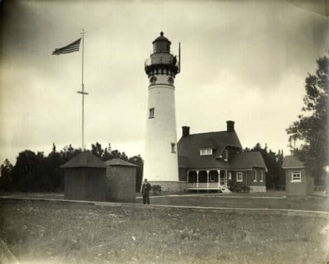 Seul Choix Point Lighthouse - Michigan's Haunted History