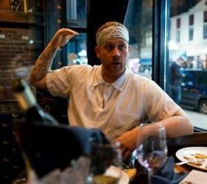 Frank Fejeran, chef at the Raven's Club. Photo by Bruno Vanzieleghem (Flickr: @Bruno_VZ).