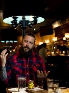 Zack Zavisa, Raven's Club bar manager. Photo by Bruno Vanzieleghem (Flickr: @Bruno_VZ).