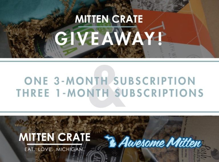 Mitten Crate Giveaway - Awesome Mitten