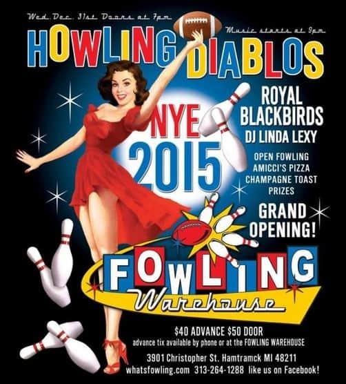 NYE fowling Celebrate the New Year in Detroit