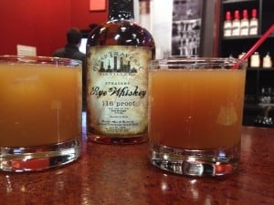 Cider with Rye Whiskey, compliments of Grand Traverse Distillery. Photo Courtesy of Jennifer Hamilton