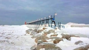 Continuing a Winter Lighthouse Road Trip Along Lake Michigan - Awesome Mitten