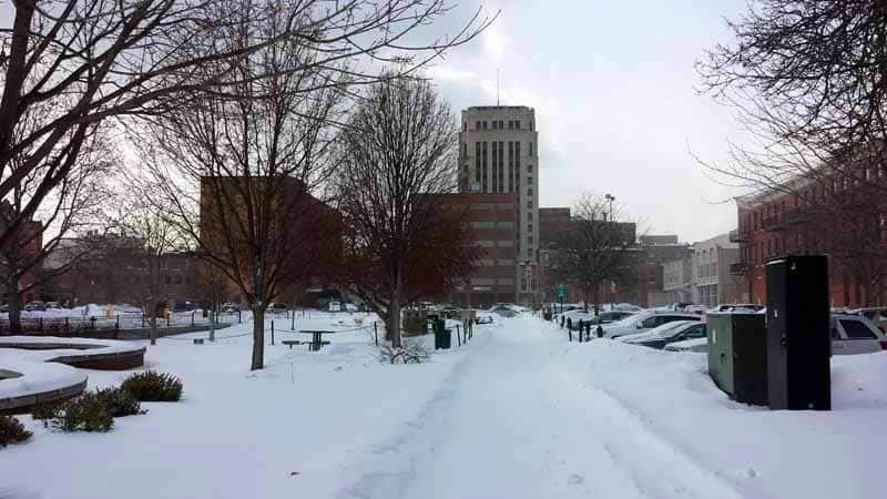 The Awesome Mitten - A Wintry Stroll Around Downtown Kalamazoo