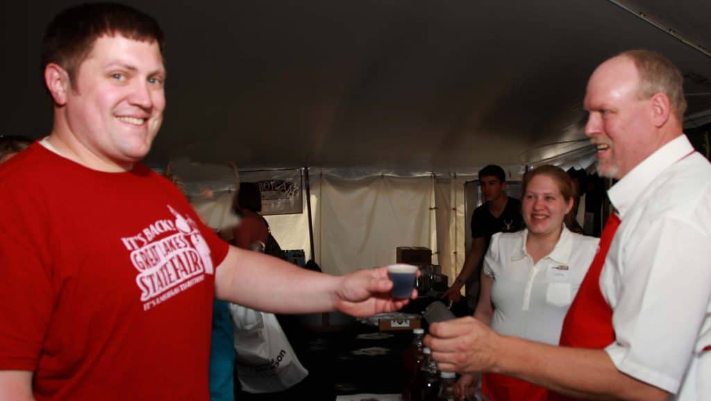 Michigan Wine & Beer Fest Beer Pour