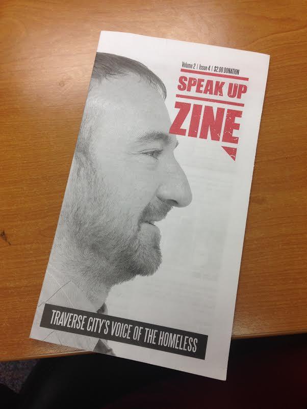 Speak Up Zine1 Speak Up Zine Gets Traverse City Talking