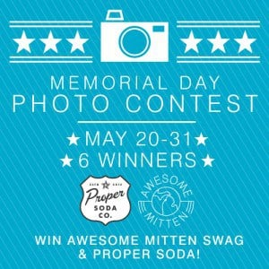 The Awesome Mitten - Memorial Day Photo Contest