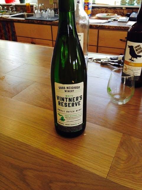 Good Neighbor Organic Winery - #MittenTrip - Leland -The Awesome Mitten