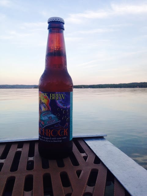 Shorts Brewing Space Rock - #MittenTrip - Leland -The Awesome Mitten