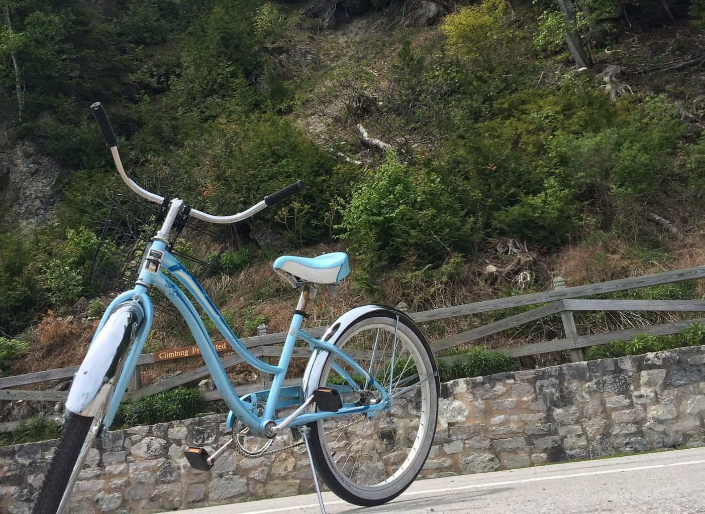 Biking on Mackinac Island - #MittenTrip - The Awesome Mitten
