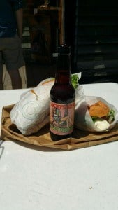 Sammies from The Cheese Shanty and a Shorts Soft Parade to wash them down! Photo courtesy of Rachell Weeks.