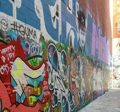 Graffiti Alley - #MittenTrip - Ann Arbor - The Awesome Mitten