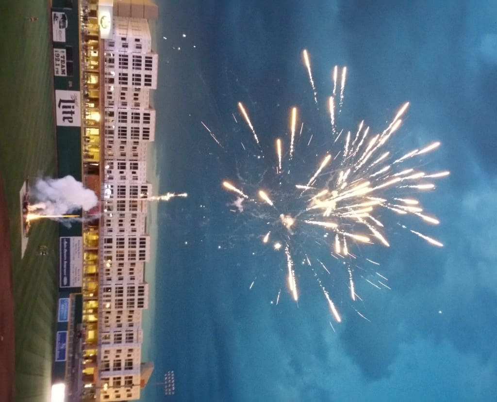 Lansing Lugnuts Fireworks - #MittenTrip - The Awesome Mitten