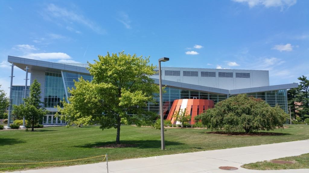 Brody Hall received major renovations from 2009 to 2011. Photo by Joel Heckaman - Awesome Mitten