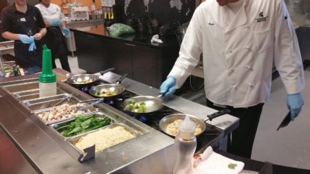 Brody Square Dining Hall: Don't Call It a Cafeteria